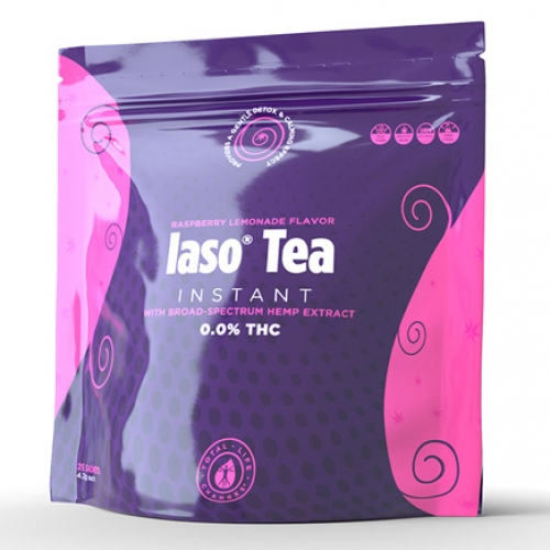 Iaso Tea Instant with Broad Spectrum Hemp Extract