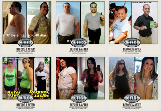 Weightloss Results from taking Iaso Tea